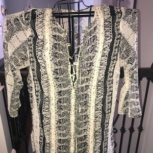 Sheer tunic by Cabi